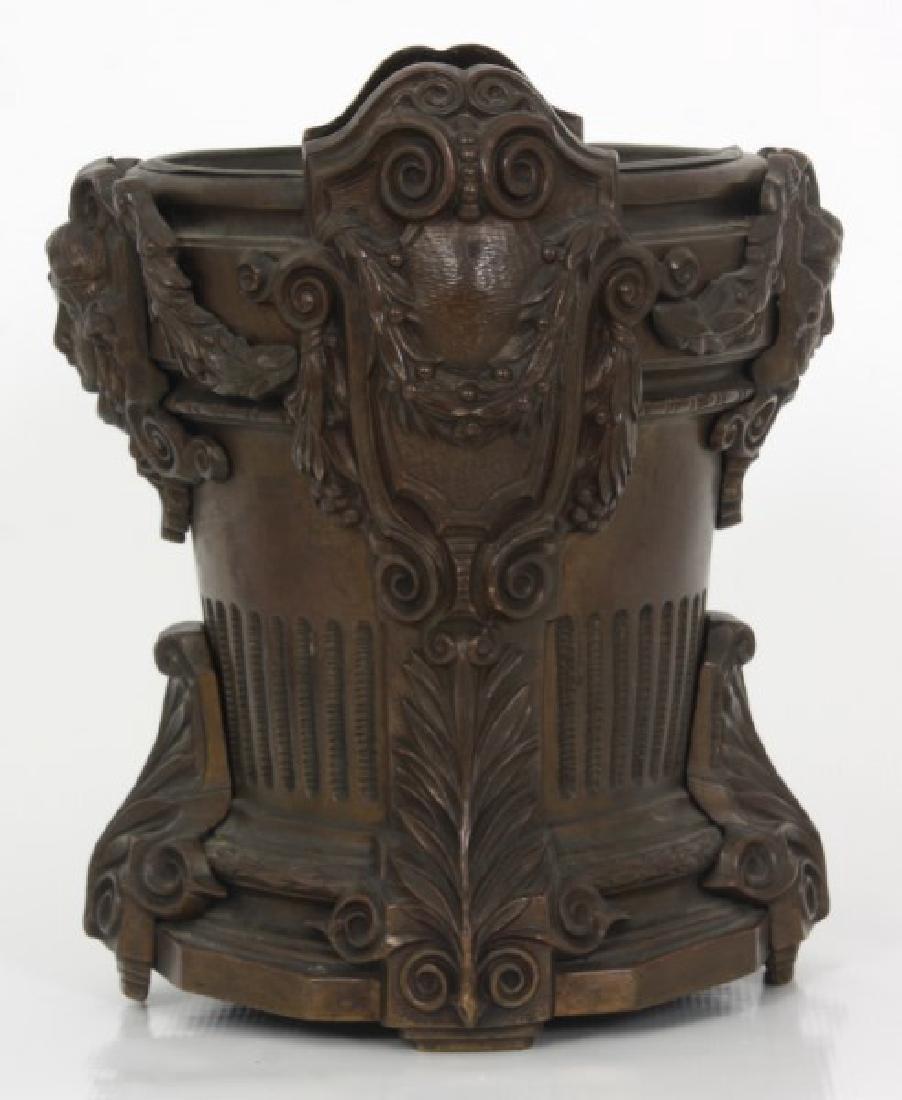 Bronze Fernery w/ Maiden Heads - 4
