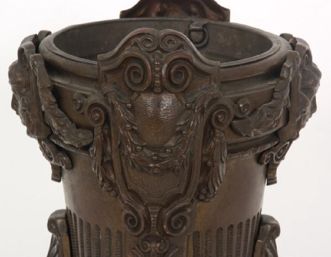 Bronze Fernery w/ Maiden Heads - 5