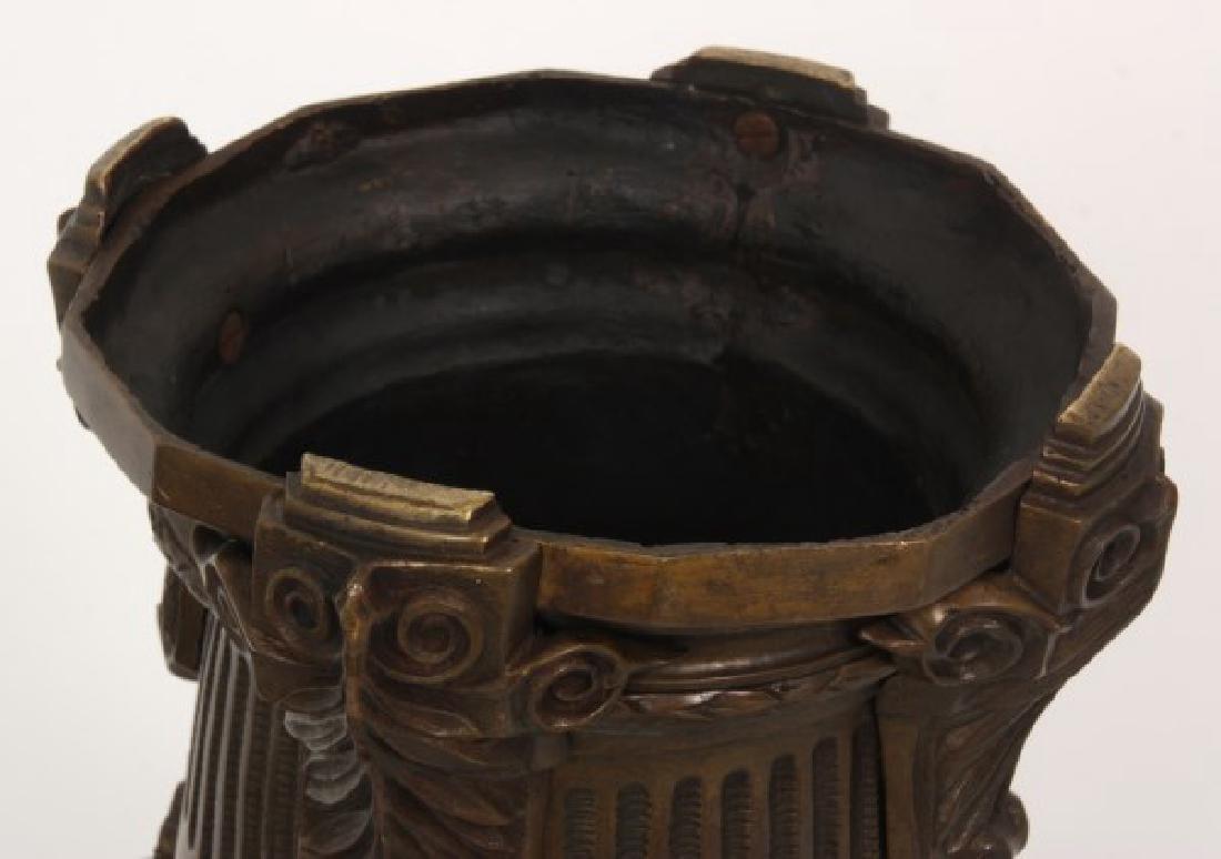 Bronze Fernery w/ Maiden Heads - 7