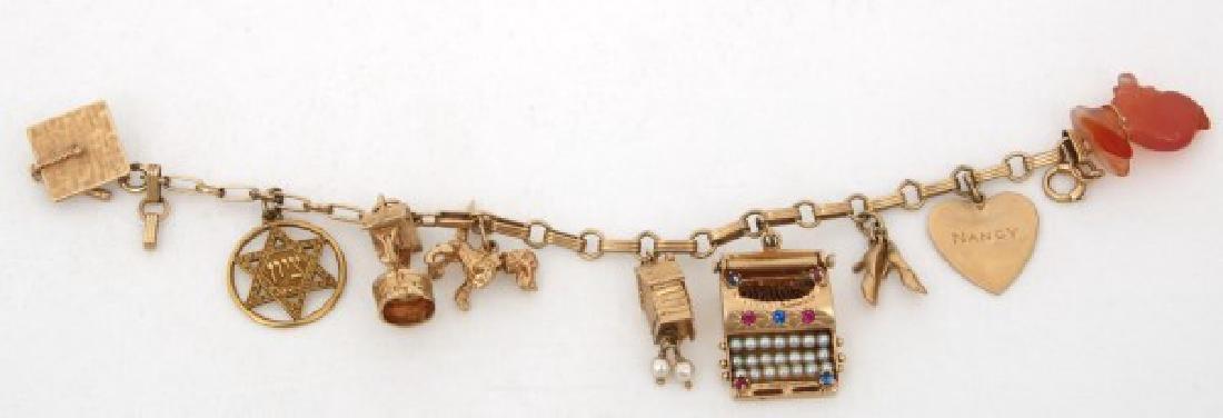 6 Pcs. 14K Gold Estate Jewelry - 3