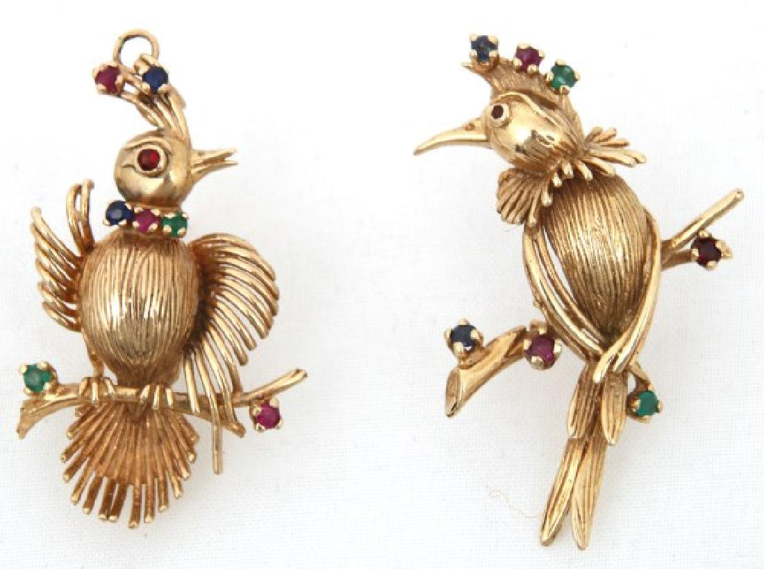 6 Pcs. 14K Gold Estate Jewelry - 8