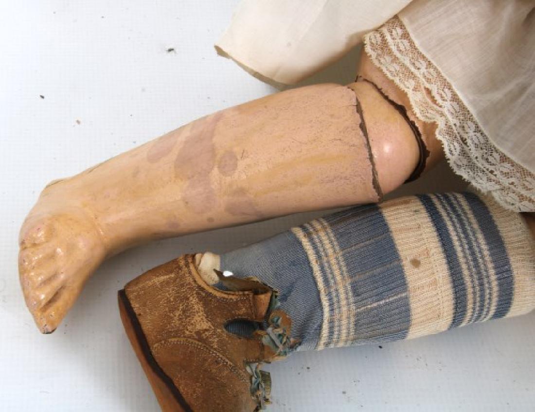 Large Tete Jumeau Bisque Head Doll - 10