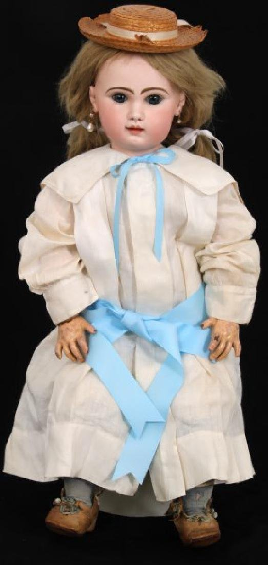 Large Tete Jumeau Bisque Head Doll