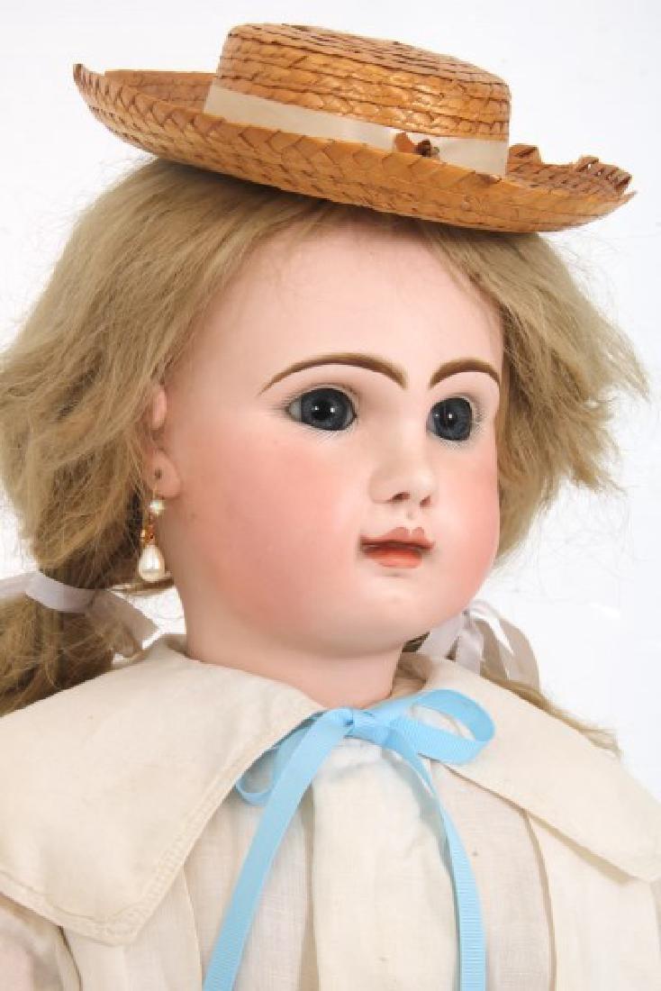 Large Tete Jumeau Bisque Head Doll - 2