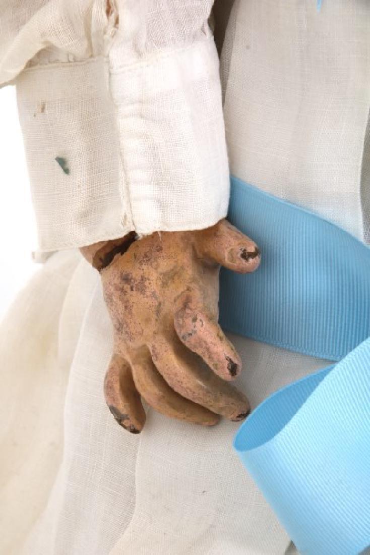 Large Tete Jumeau Bisque Head Doll - 3