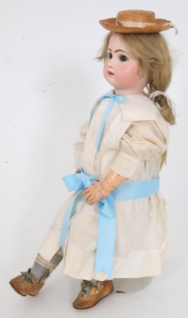 Large Tete Jumeau Bisque Head Doll - 6