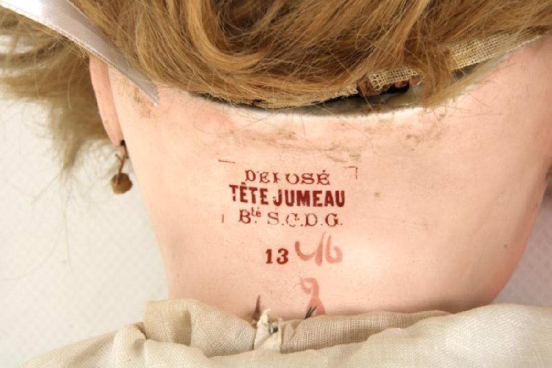 Large Tete Jumeau Bisque Head Doll - 8