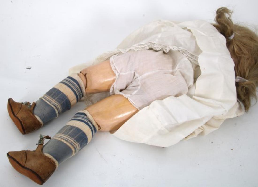 Large Tete Jumeau Bisque Head Doll - 9