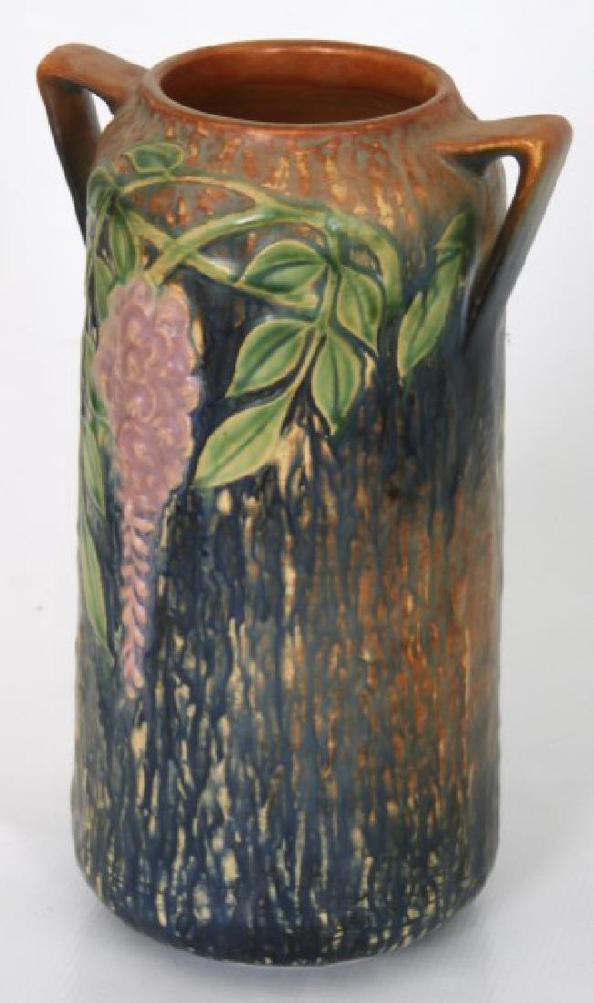 3 Pcs. Roseville Wisteria Pottery Vases - 3