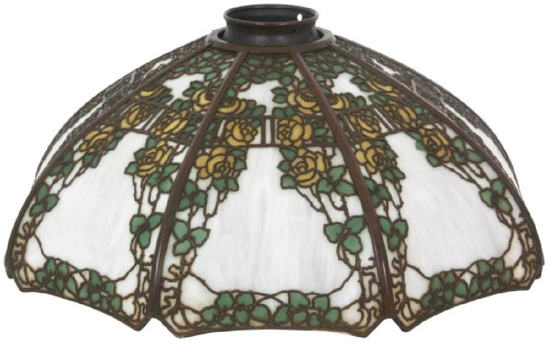 18 in. Handel Overlay Yellow Rose Lamp Shade