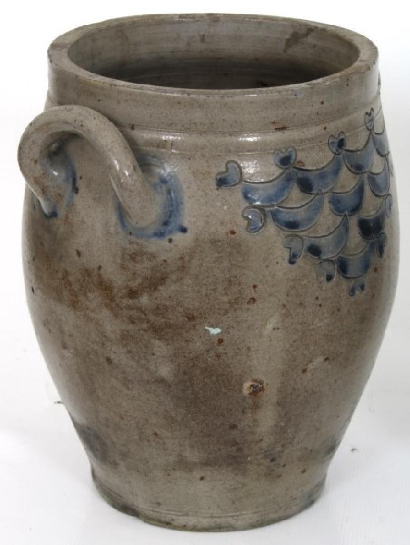 6 Cobalt Decorated Crocks And Jugs - 4