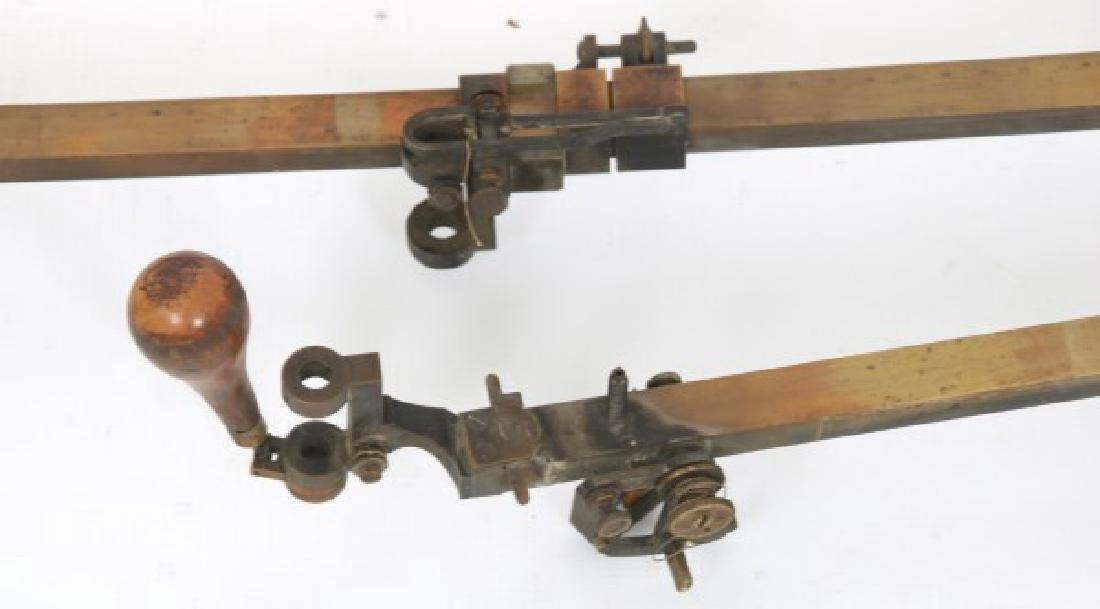 Dennert & Pape Large Scale Brass Planimeter - 3