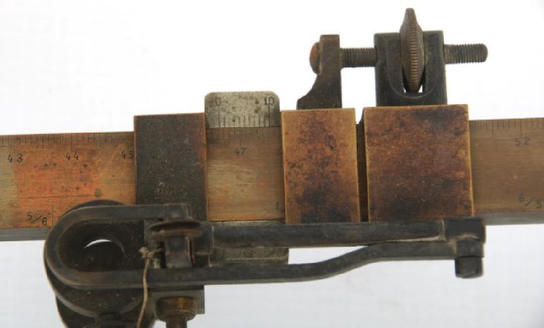 Dennert & Pape Large Scale Brass Planimeter - 4