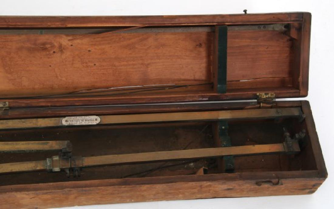 Dennert & Pape Large Scale Brass Planimeter - 8