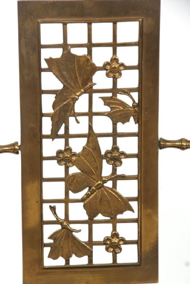 Aesthetic Gilt Brass Vanity Chair - 4