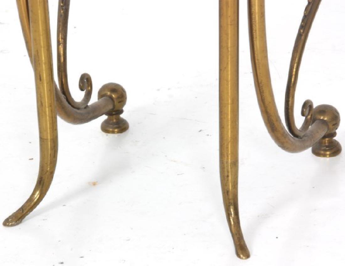 Aesthetic Gilt Brass Vanity Chair - 9