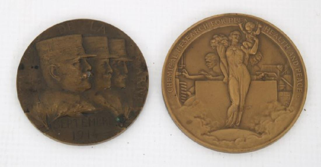 10 Assorted Bronze And Copper Medallions - 2