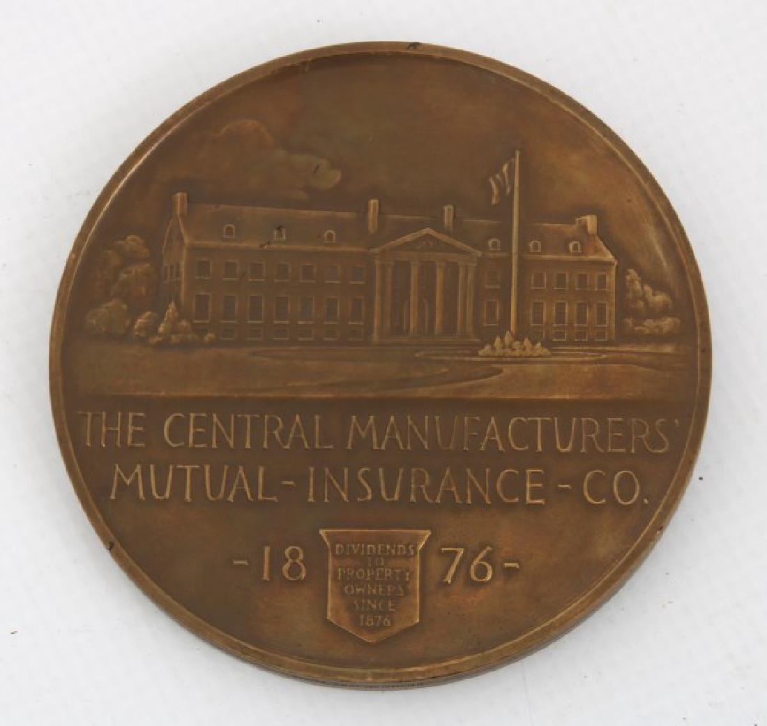 10 Assorted Bronze And Copper Medallions - 8