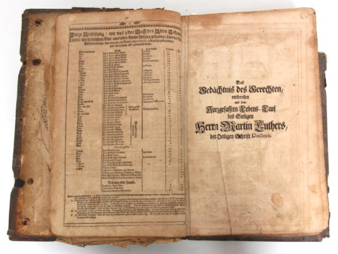 Early German Lutheran Bible - 3