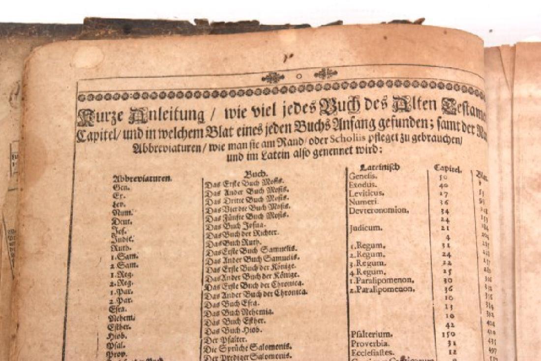 Early German Lutheran Bible - 5