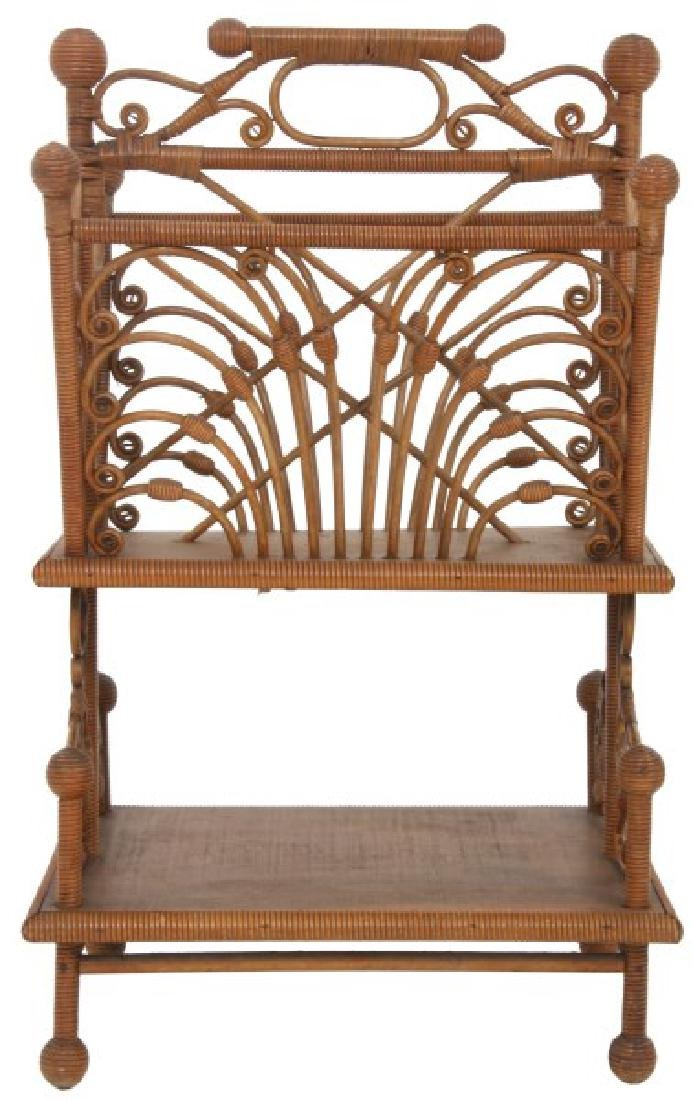 6 Pcs. Victorian Wicker Side Pieces - 7