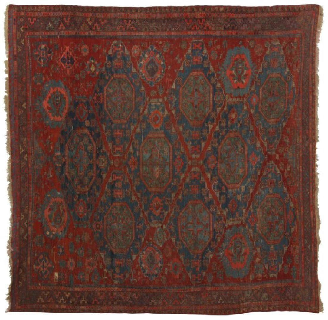 Antique Hand Woven Oriental Rug