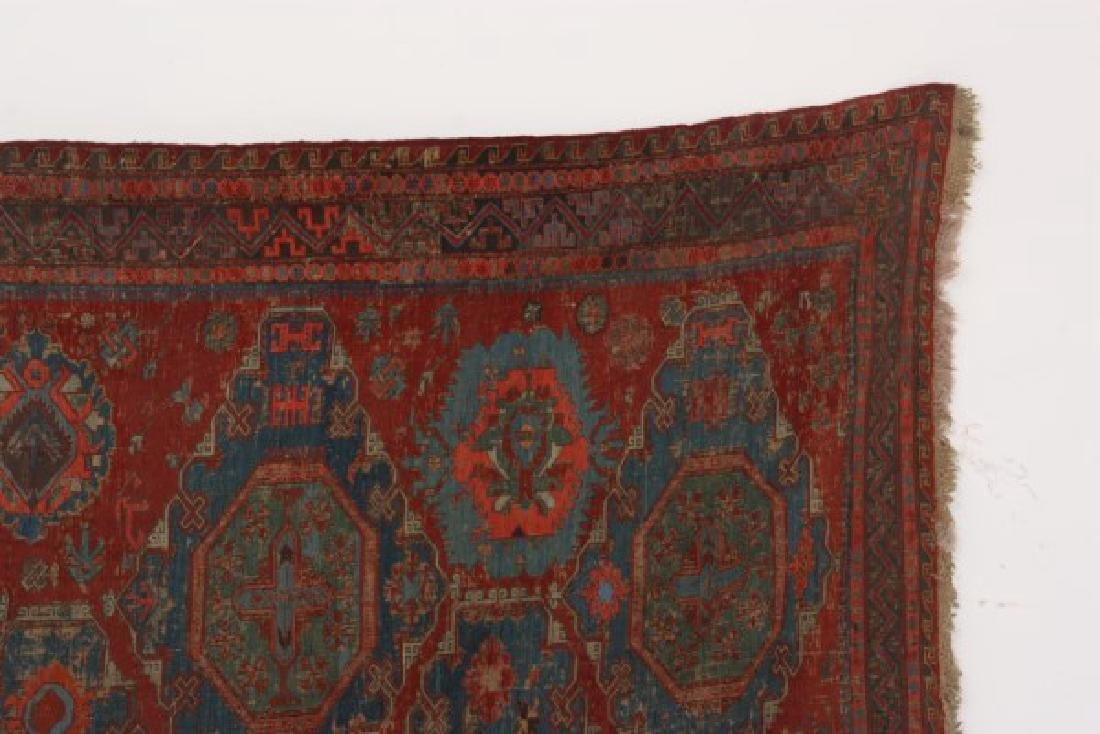 Antique Hand Woven Oriental Rug - 2