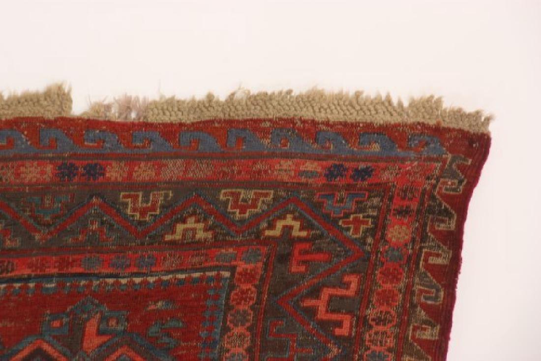 Antique Hand Woven Oriental Rug - 3