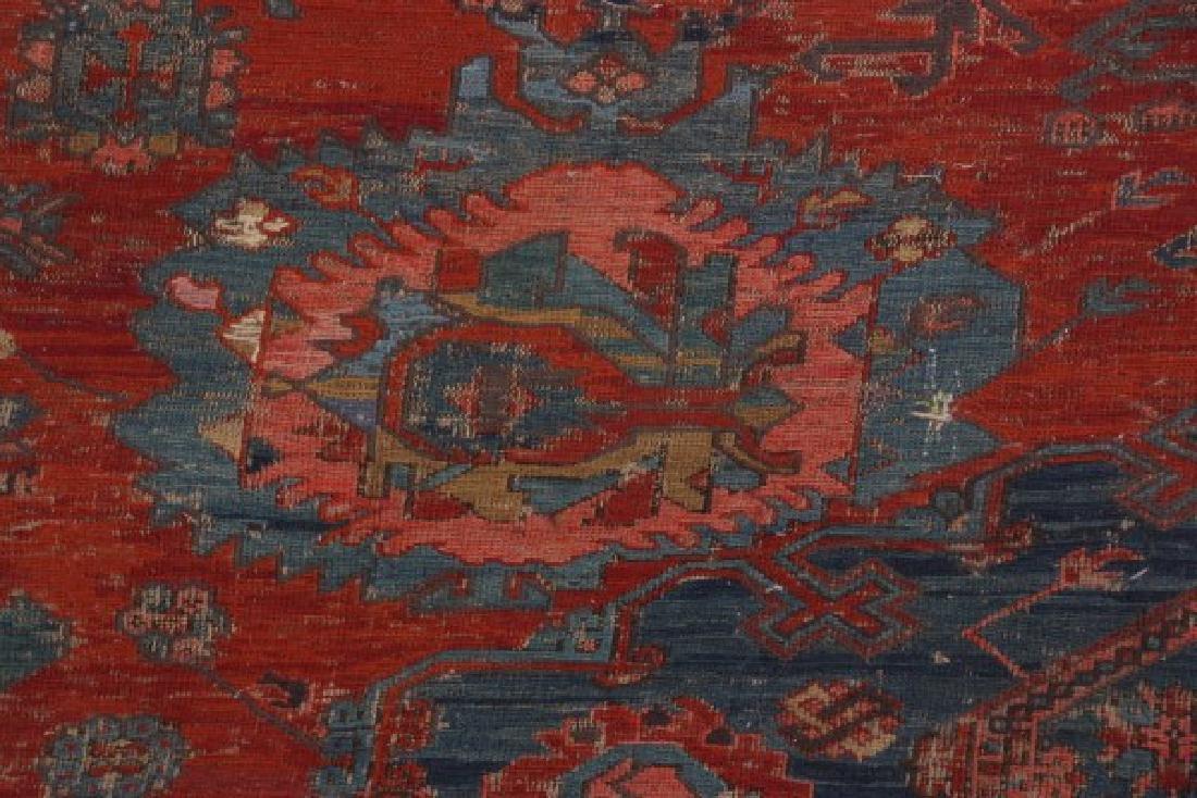Antique Hand Woven Oriental Rug - 5