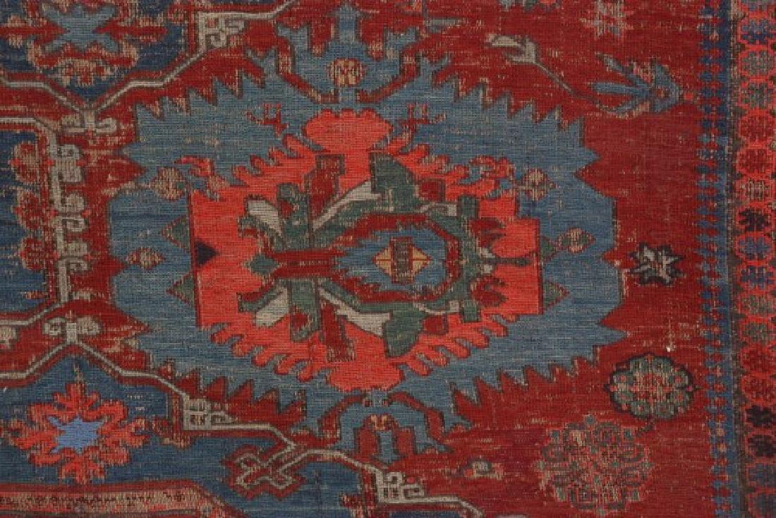 Antique Hand Woven Oriental Rug - 6