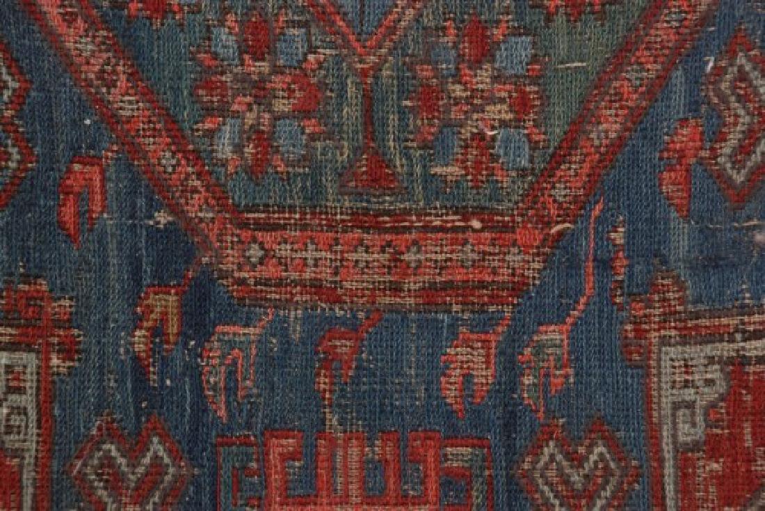 Antique Hand Woven Oriental Rug - 7