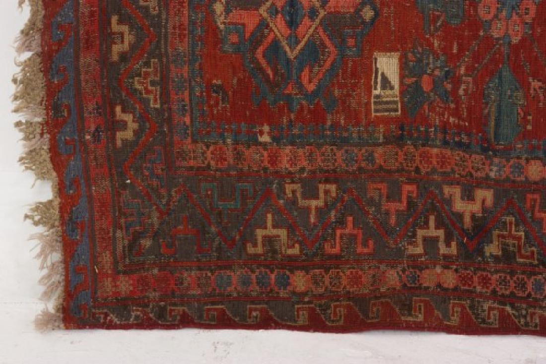 Antique Hand Woven Oriental Rug - 8