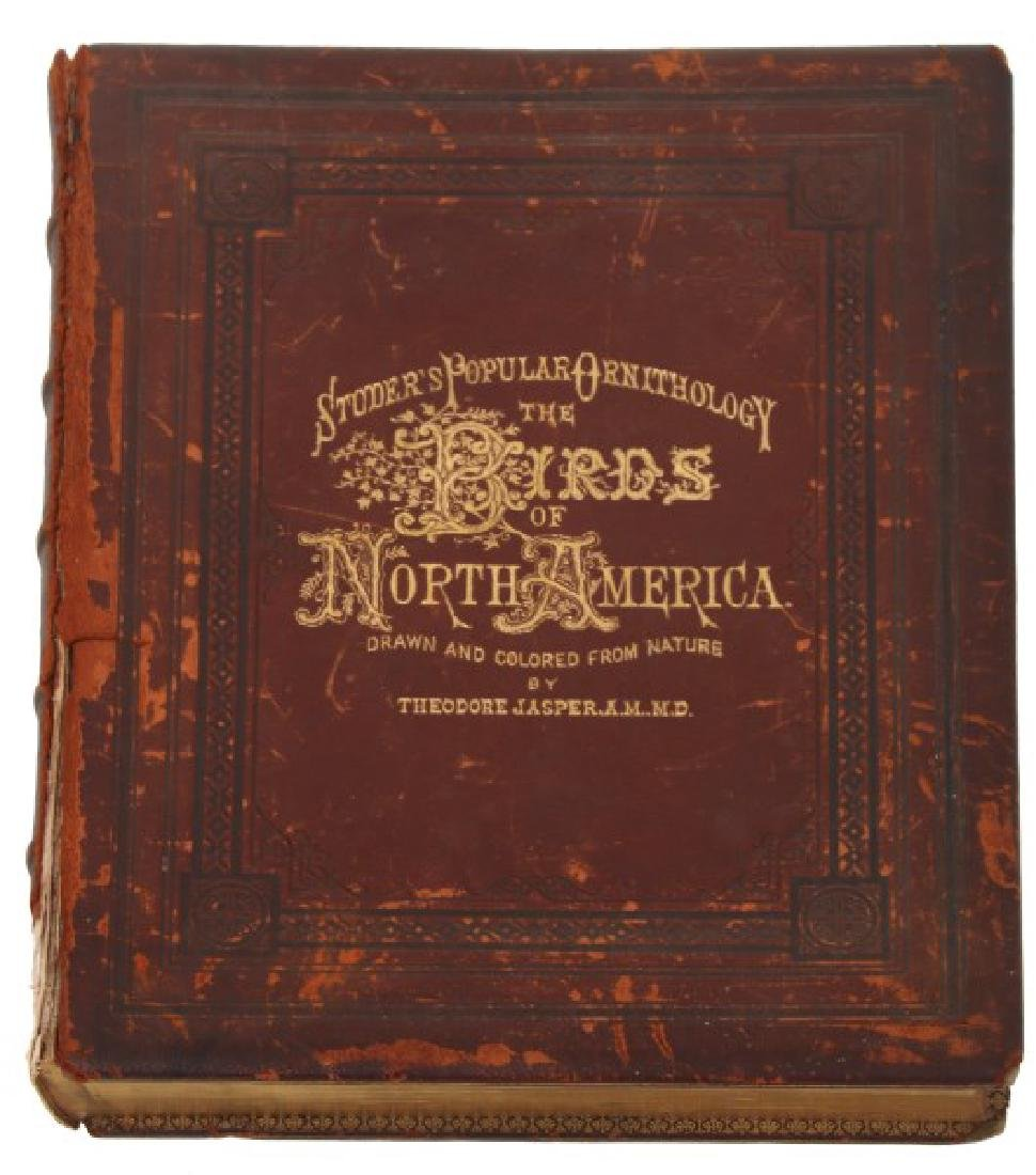 Jacob Studer - Birds Of North America Book