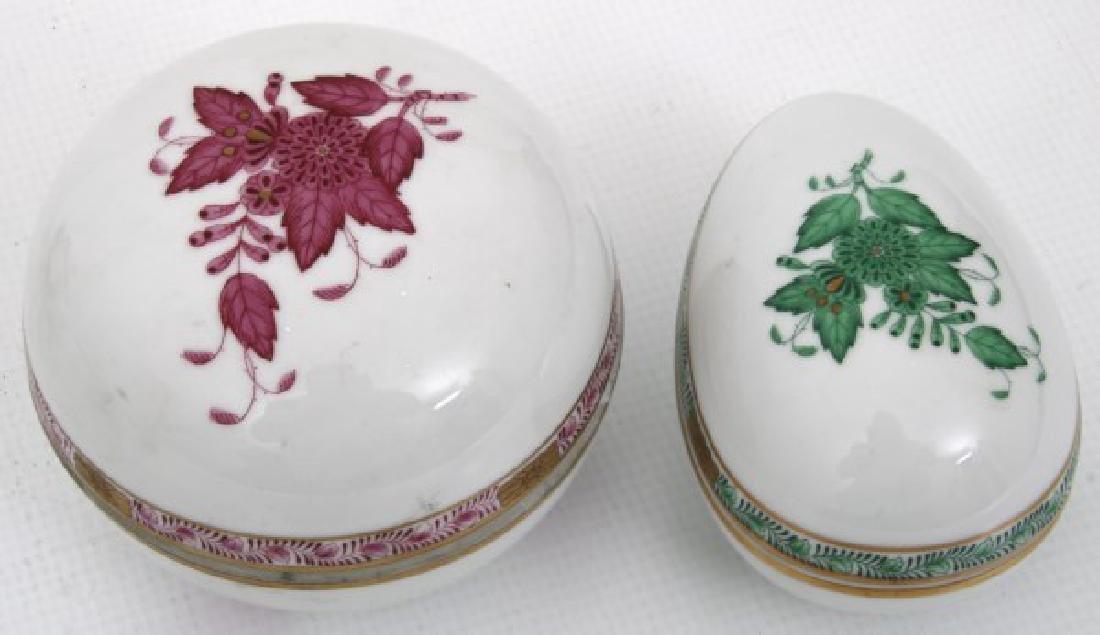 11 Pcs. Assorted Herend Porcelain - 10