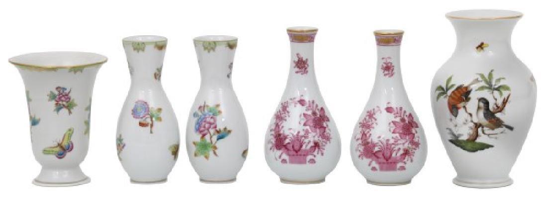 11 Pcs. Assorted Herend Porcelain - 2