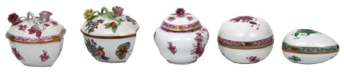 11 Pcs. Assorted Herend Porcelain - 3