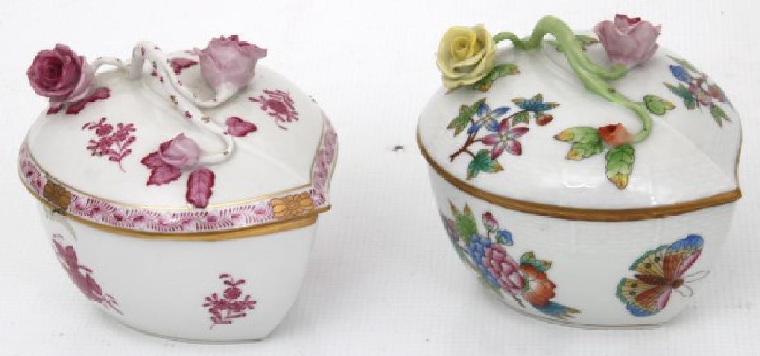 11 Pcs. Assorted Herend Porcelain - 9