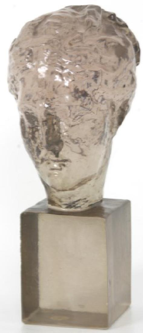 Dorothy Thorpe Resin Maiden's Head Sculpture - 4