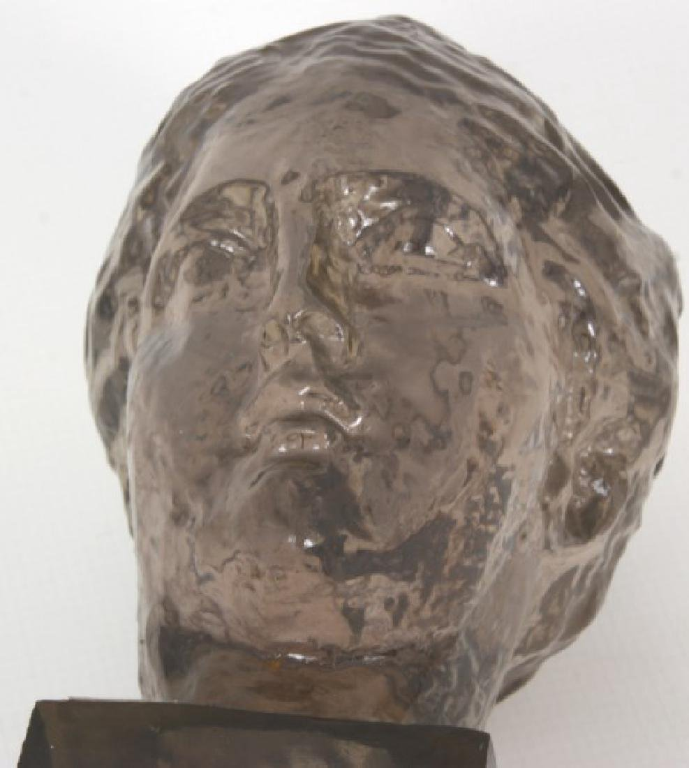 Dorothy Thorpe Resin Maiden's Head Sculpture - 9