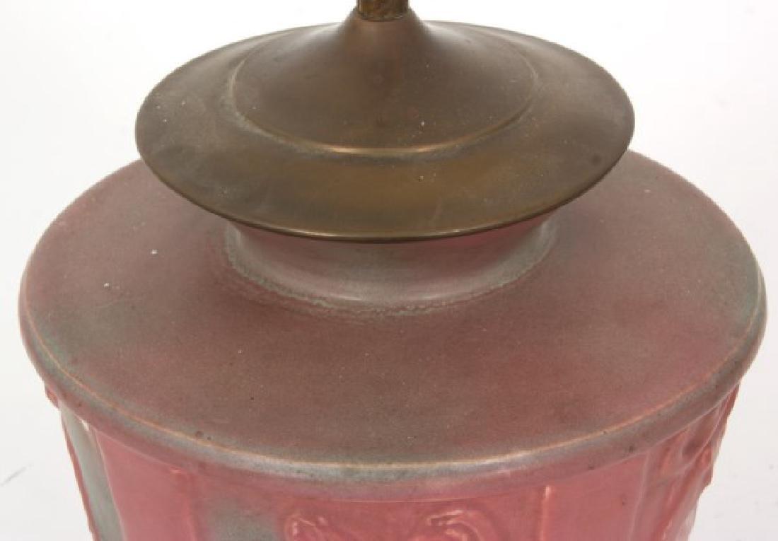 Muncie Pottery Lamp Base - 3