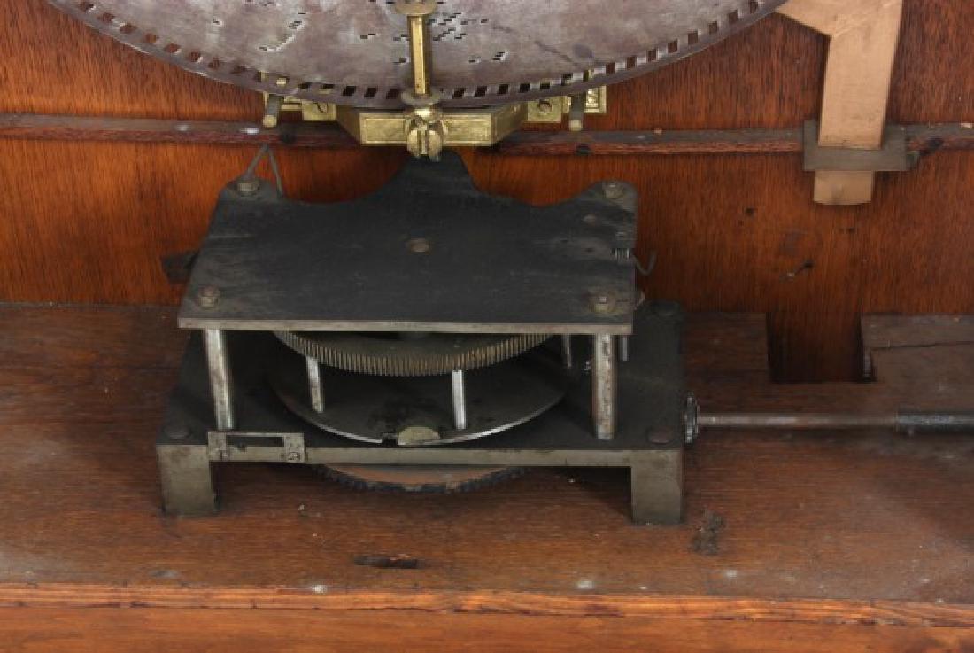 Adler 26 in. Upright Disk Mahogany Music Box - 6