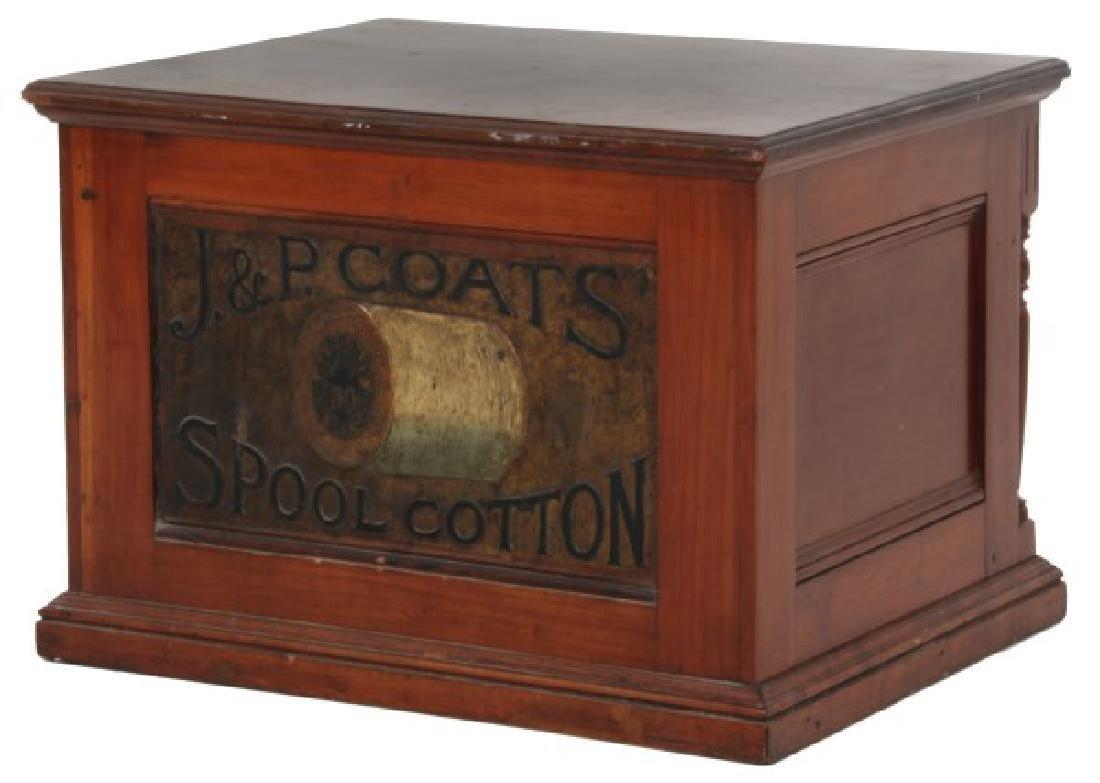 J&P Coats 4 Drawer Spool Cabinet