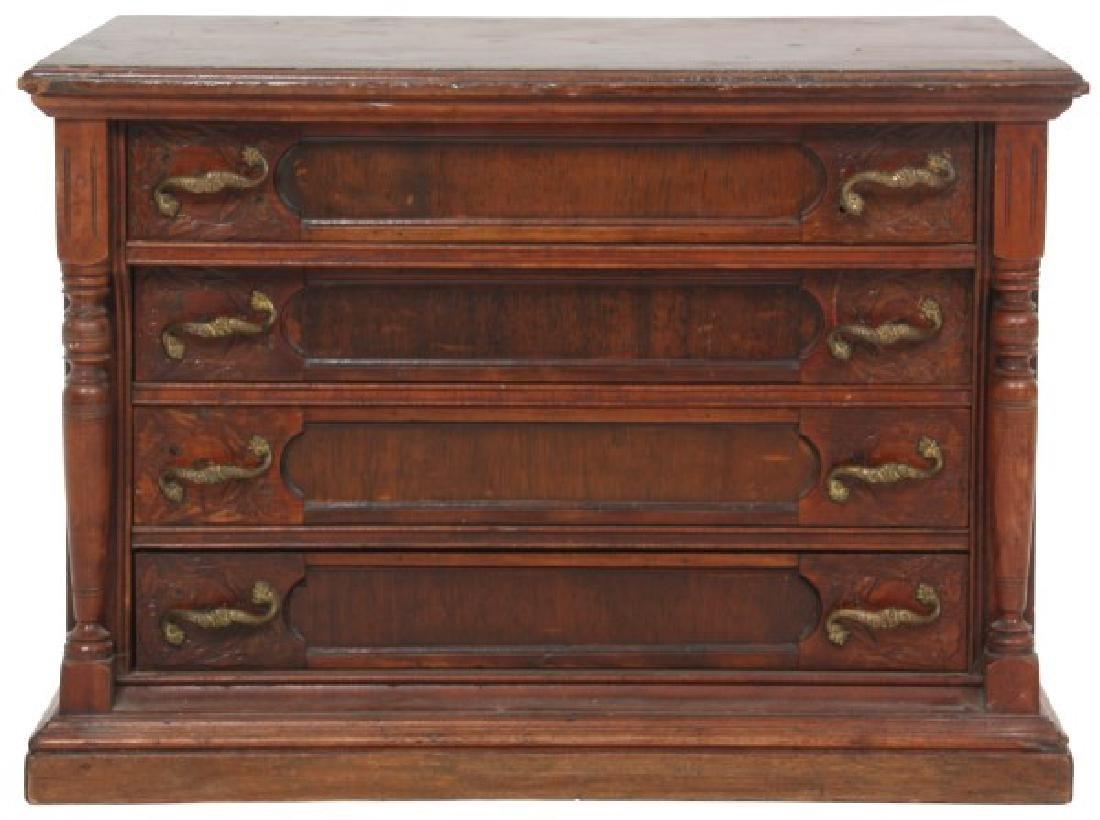 J&P Coats 4 Drawer Spool Cabinet - 2