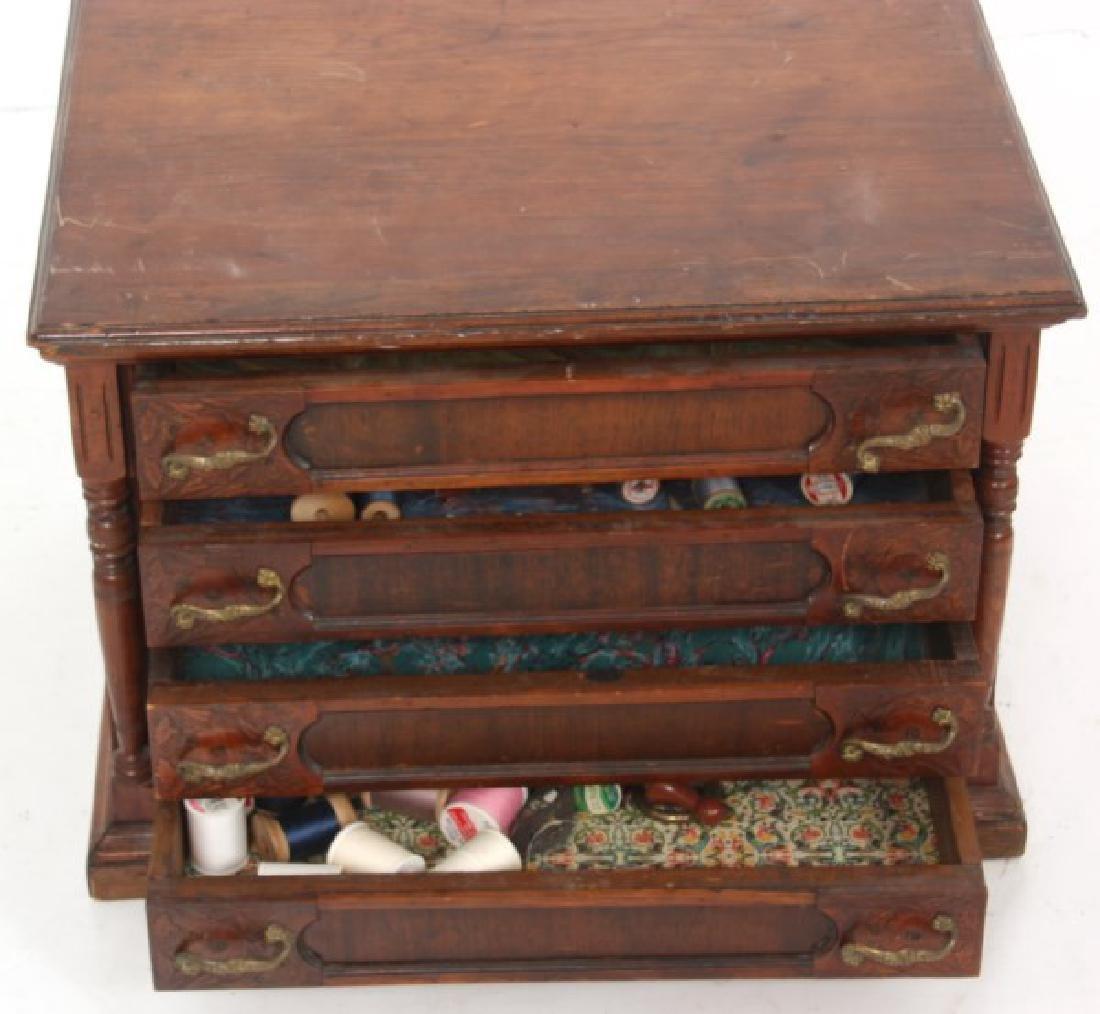 J&P Coats 4 Drawer Spool Cabinet - 7