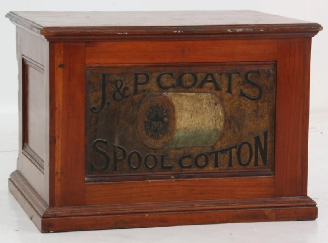 J&P Coats 4 Drawer Spool Cabinet - 8