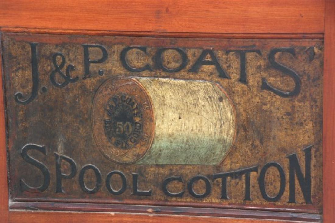 J&P Coats 4 Drawer Spool Cabinet - 9