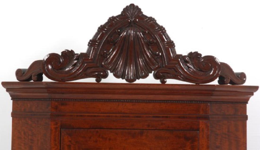 Custom Hand Made Mahogany Corner Cabinet - 2