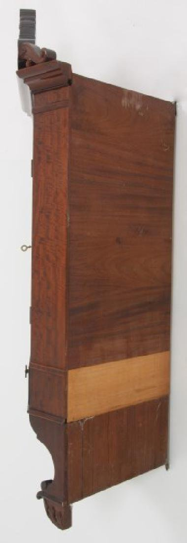 Custom Hand Made Mahogany Corner Cabinet - 8