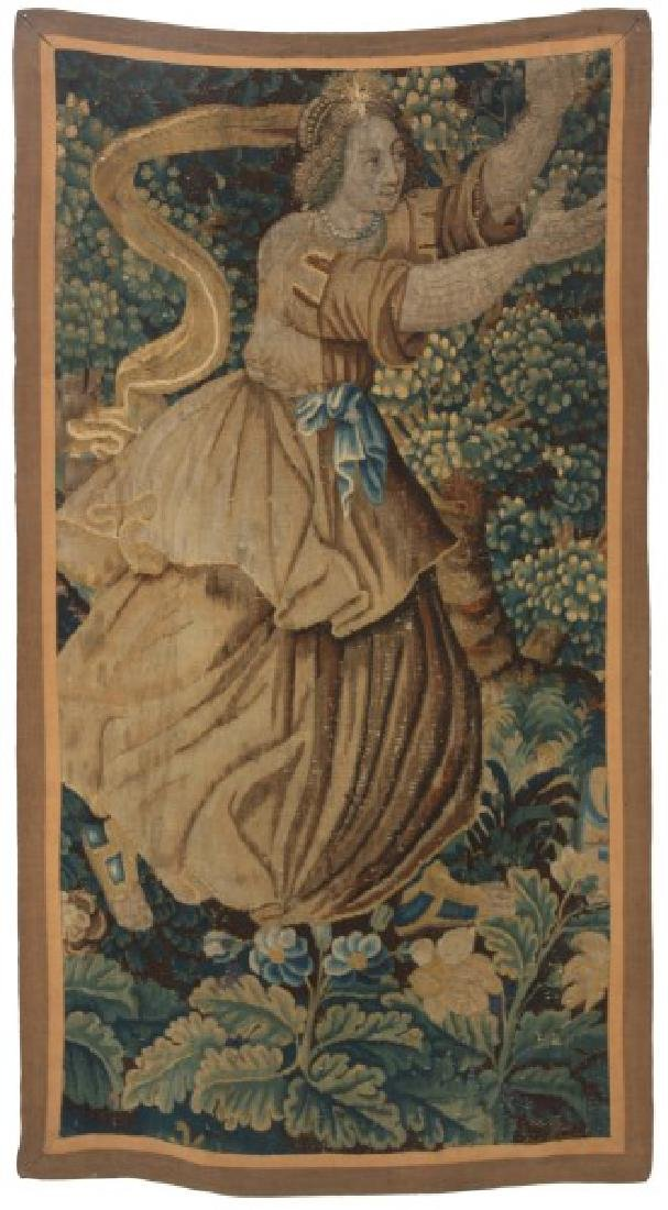 Hand Made Figural Wall Tapestry
