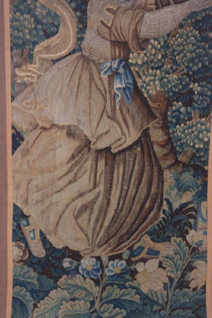 Hand Made Figural Wall Tapestry - 3